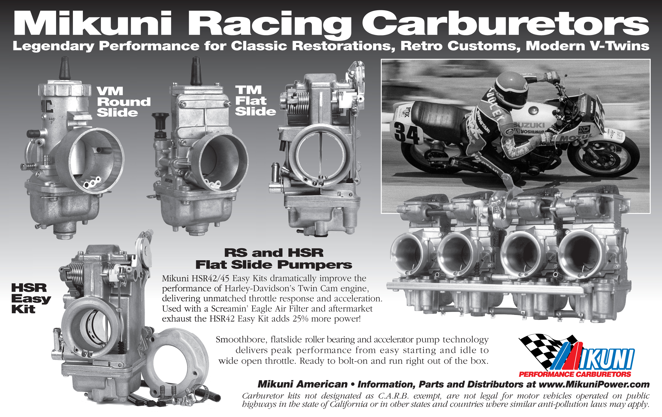 Mikuni Power - Media Ads  Press Releases