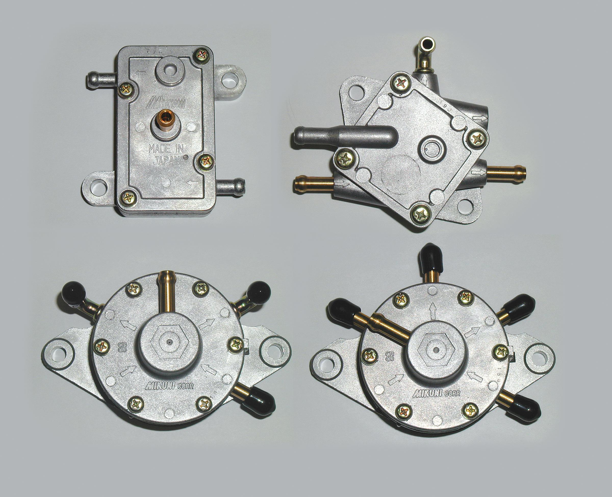 mikuni pulse fuel pump instructions