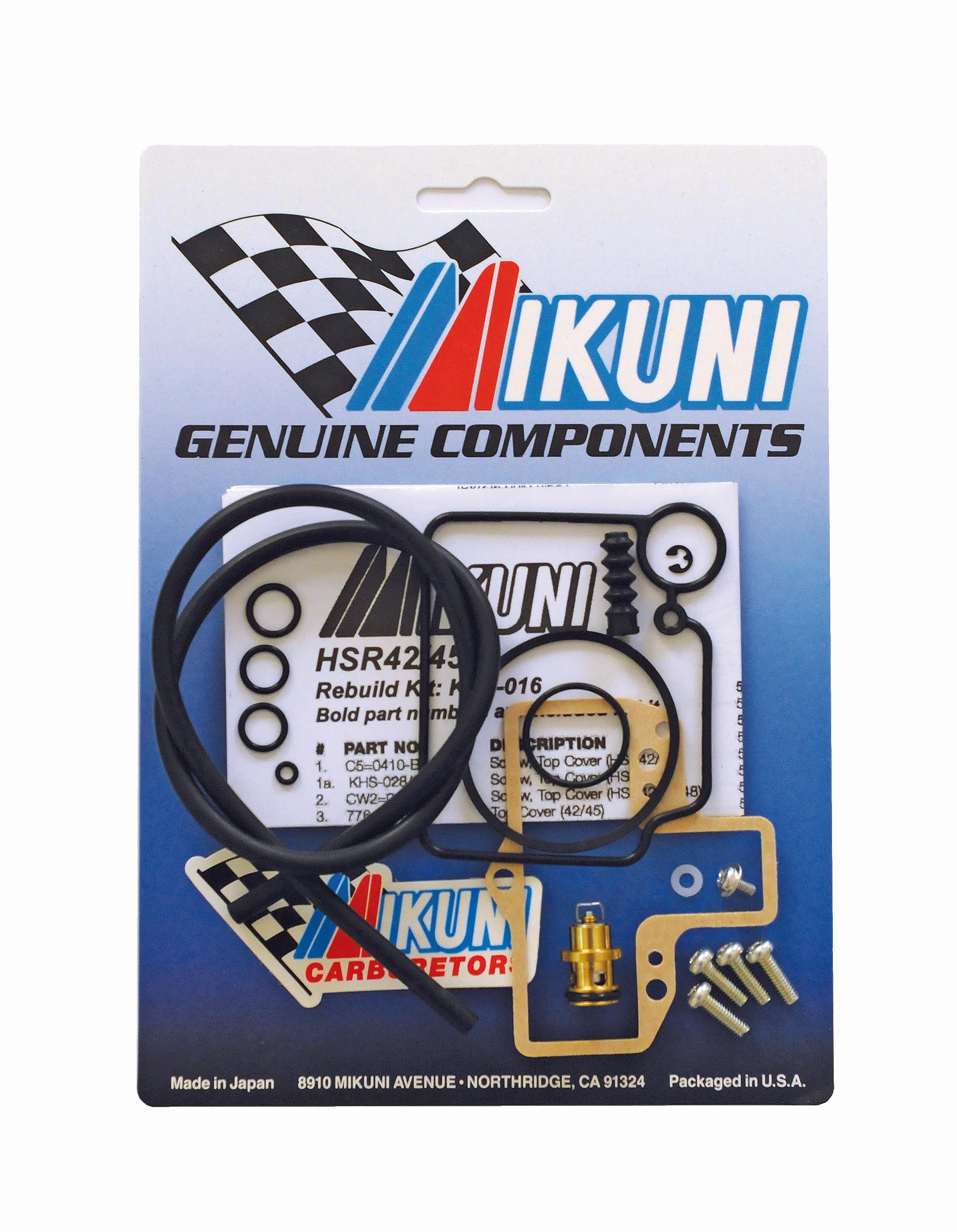 Mikuni Power - Mikuni Genuine Carburetor & Fuel Pump Rebuild