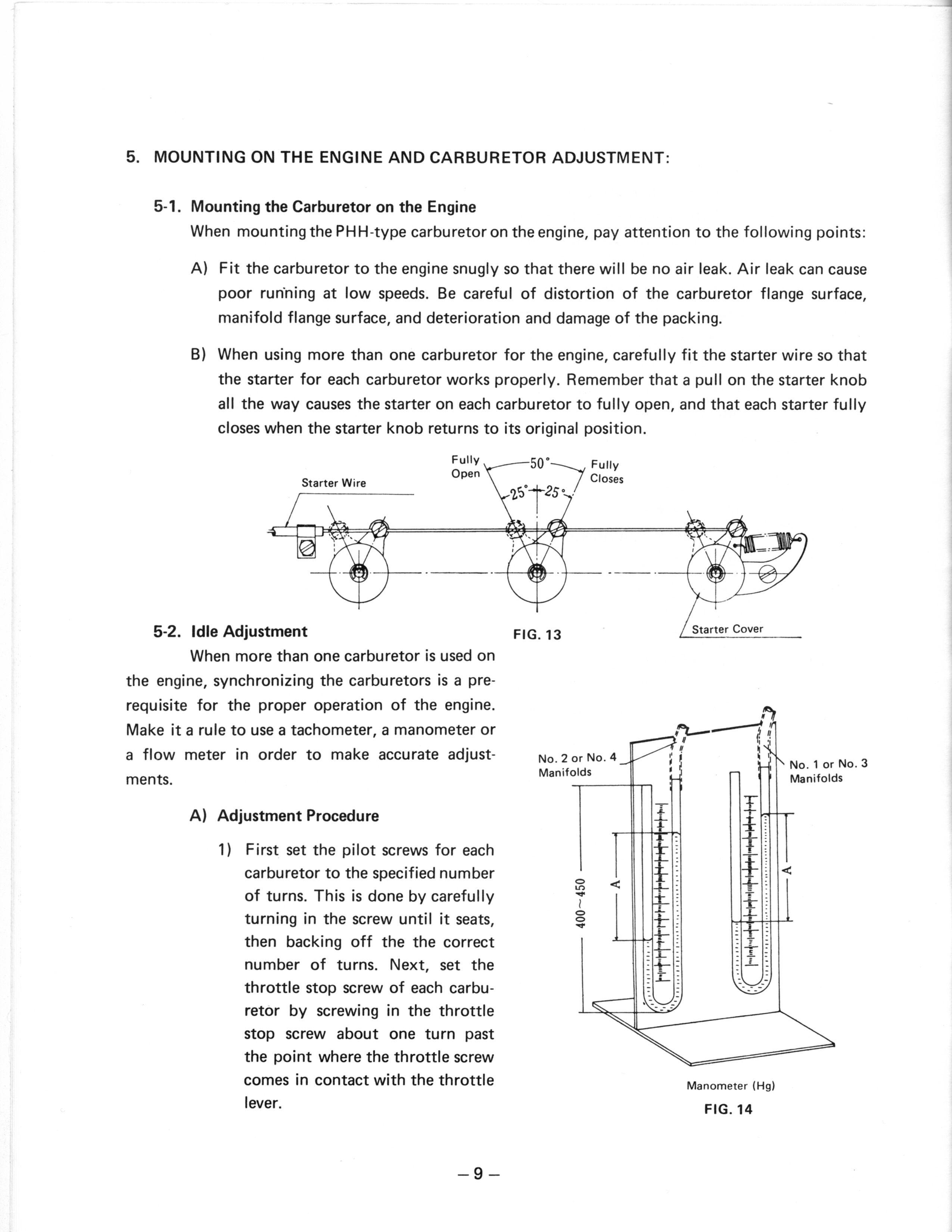 Welcome To Mikuni Power Rs Series Carburetors Need A Diagram Or Picture Of How The Carburetor Adjustments 10